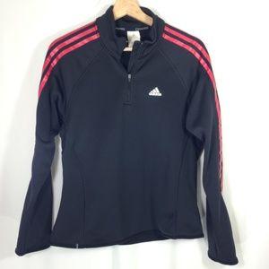 Black Adidas Pullover Jacket M